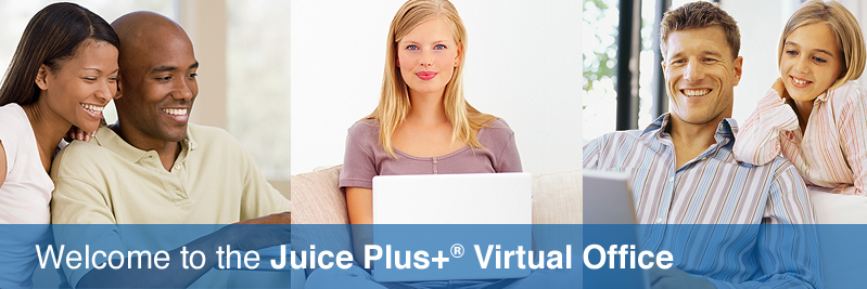 Juice Plus +® portal for distributors